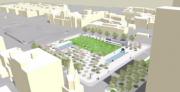 Le projet de réaménagement du square Viger... (IMAGE FOURNIE PAR LA VILLE DE MONTRÉAL) - image 1.0