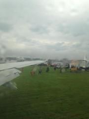 Un Boeing 737 de la compagnie aérienne WestJet... (Photo MaggieDP (@RocknMom) sur Twitter) - image 1.0