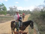 Notre gentil guide à cheval, Jiovanni.... (Photo collaboration spéciale Mylène Moisan) - image 1.1