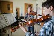 Élève à l'École des petits musiciens de Joseph-François-Perrault,... (PHOTO EDOUARD PLANTE-FRÉCHETTE, LA PRESSE) - image 2.0