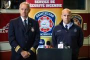 Le directeur du Service de sécurité incendie de... (Photo: Olivier Croteau, Le Nouvelliste) - image 1.0