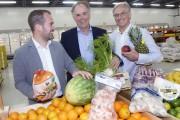 Les trois propriétaires de Grossiste Le Frigo, Pierre-Benoit... (Le Soleil, Jean-Marie Villeneuve) - image 1.0