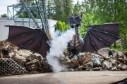 Le dragon Dragao constitue la pièce de résistance... (Photo: Olivier Croteau, Le Nouvelliste) - image 1.0