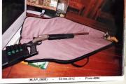 Une photo de l'arme déposée au dossier de... (Photo sûreté du Québec) - image 1.0
