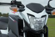 Le phare avant de la Honda CB300F 2015... (Photo fournie par le constructeur) - image 5.0
