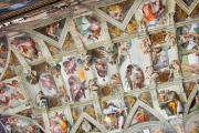 Plafond de la chapelle Sixtine.... (PHOTO JEAN-CHRISTOPHE BENOIST) - image 3.0