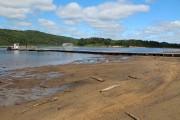 Le niveau de l'eau est anormalement bas à... (Photo: Audrey Tremblay, Le Nouvelliste) - image 1.0
