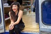 Pour Sabrina Barilà, sa boutique mobile est avant... (Photo André Pichette, La Presse) - image 2.0