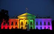 La Maison-Blanche illuminée aux couleurs de l'arc-en-ciel pour... (Photo Gary Cameron, Reuters) - image 1.0