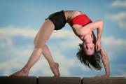 Nadine Louis est spécialiste de la contorsion et... (PHOTO BERNARD BRAULT, LA PRESSE) - image 4.0