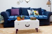 Le canapé du salon.... (PHOTO OLIVIER JEAN, LA PRESSE) - image 5.0