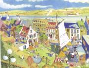 Le rêve de Jacques de Blois en dessin,... (Dessin tiré du livre «Le rêve du Petit-Champlain», Septentrion) - image 2.1