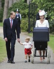 Pour la première fois, le prince William, son... (PHOTO CHRIS JACKSON, AP) - image 1.0