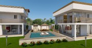 Les maisons JA' (à gauche) et K'AK' («eau»... (ILLUSTRATION FOURNIE PAR RIVIERA MAYA PROPERTY CONSULTANTS) - image 1.0