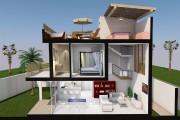 Les trois maisons, comme celle dénommée JA', auront... (ILLUSTRATION FOURNIE PAR RIVIERA MAYA PROPERTY CONSULTANTS) - image 1.1
