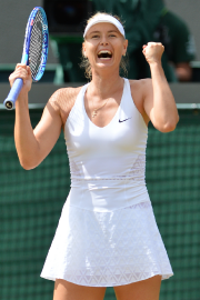 Maria Sharapova... (Photo Glyn Kirk, AFP) - image 2.0