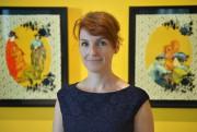 Avec Western Wasabi, l'artiste Cynthia Dinan-Mitchell mélange laculture... (Le Soleil, Yan Doublet) - image 1.0