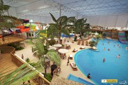 Aperçu du futur parc aquatique intérieur du Village... (Graph Synergie) - image 1.1