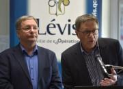 Le maire de Lévis, Gilles Lehouillier, a insisté... (Le Soleil, Yan Doublet) - image 1.1