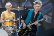 Keith Richards et, en arrière-plan, Charlie Watts... (AFP, Michael Hickey) - image 2.0