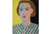 Henri Matisse, Portrait au visage rose et bleu,... (PHOTO @SUCCESSION H. MATISSE/SODRAC (2015)) - image 3.0