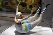 Miss Terred'Aline Martineau, sculpture papier béton... (Le Soleil, Patrice Laroche) - image 1.0
