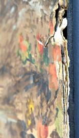 Neuf couches de papier peint superposées composent la... (Photo Le Soleil, Patrice Laroche) - image 3.0