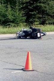 Un motocycliste de Thetford Mines a perdu la... - image 1.0