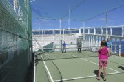 Plusieurs activités sportives, comme du tennis sur le... (Photo Andrée LeBel, La Presse) - image 1.0
