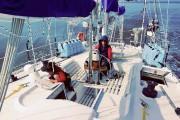 Présentement en direction des Îles-de-la-Madeleine, Marcus Forns et... (Photo fournie par la famille Forns-Gauthier) - image 1.0