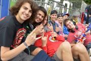 Un groupe de jeunes de 17 ans présents... (Le Soleil, Yan Doublet) - image 2.0