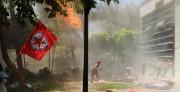 L'explosion, très forte, s'est produite à la mi-journée... (PHOTO  AFP/DICLE) - image 1.0