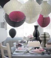 Les décorations de papier VISIONÄR peuvent être suspendues... (Photo Ikea) - image 3.0