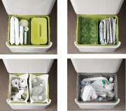 Le compartiment du haut sert de poubelle, celui... - image 1.0