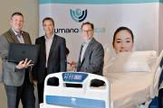 Trois des quatre actionnaires d'Umano Médical: Christian Cariou... (Le Soleil, Pascal Ratthé) - image 2.0