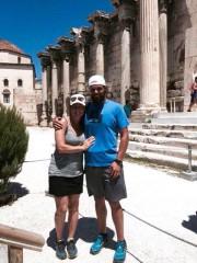 Le voyage en Grèce des Sherbrookois Marie-LyndaHorthet Jean-Nicolas... (Photo fournie) - image 1.0