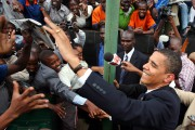 La dernière visite d'Obama au Kenya en 2006,... (PHOTO RADU SIGHETI, ARCHIVES REUTERS) - image 2.0