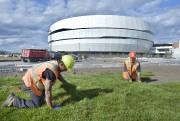 Le centre Vidéotron, presque terminé, ouvrira ses portes... (Photo Jean-Marie Villeneuve, archives Le Soleil) - image 1.1