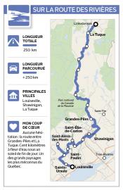 Sur la route des rivières... (Infographie Le Soleil) - image 5.0
