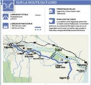 Sur la route du fjord... (Infographie Le Soleil) - image 1.0