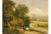 Paysage à la rivière, 1842, de David Cox... (PHOTO FOURNIE PAR LE MUSÉE DES BEAUX-ARTS DE MONTRÉAL) - image 2.0