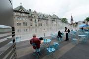 Les chaises et tables bistro des nouveaux jardins... (PhotothèqueLe Soleil, Erick Labbé) - image 2.0