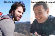 Les étudiants montréalais Étienne Lemieux et Louis-Vincent Lessard... (Photomontage tiré de Facebook) - image 1.0