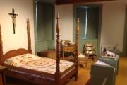 Une des chambres de la résidence construite en... (Photo fournie par la Maison historique Chevalier) - image 1.0