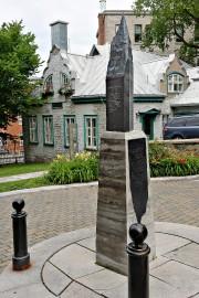 Le monument Baillargé de la Chaussée a été... (Le Soleil, Patrice Laroche) - image 1.0
