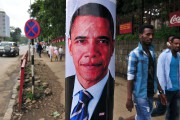 Un portrait d'Obama dans les rues d'Addis Abeba,... (Photo AFP) - image 2.0