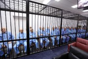 Au total, 37 prévenus étaient jugés pour leur... (PHOTO  MAHMUD TURKIA, AFP) - image 2.0