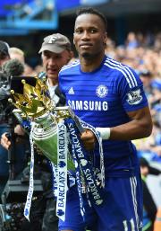 Didier Drogba a remportéquatre titres de champion d'Angleterre... (Photo Ben Stansall, AFP) - image 3.0