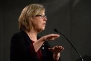 La chef du Parti vert du Canada, Elizabeth... (PHOTO ARCHIVES LA PRESSE CANADIENNE) - image 2.0