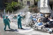 La crise des déchets a commencé le 17... (PHOTO BILAL HUSSEIN, AP) - image 2.0
